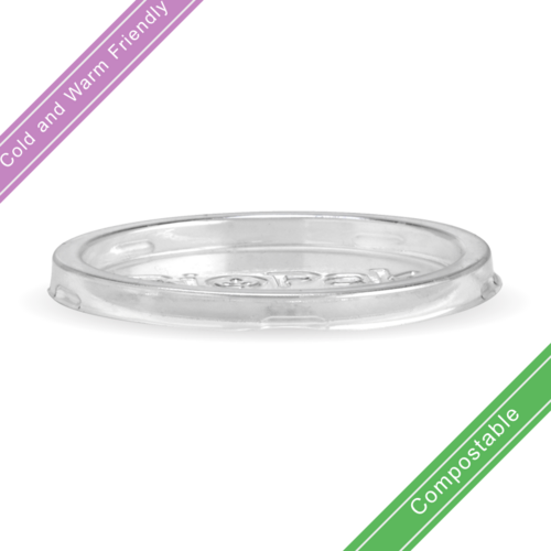 60ml Clear PET Sugarcane Sauce BioCup Lid