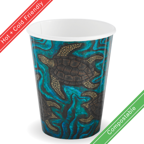 390ml / 12oz (90mm) Double Wall Indigenous BioCup