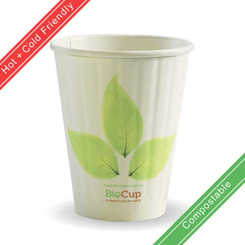 280ml / 8oz (80mm) Double Wall BioCup
