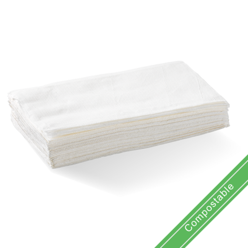 White - 1 Ply Single Saver BioDispenser Napkin